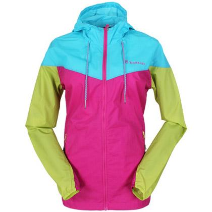 探路者Toread女式徒步皮肤衣 TAEC82287-E11C 艳紫