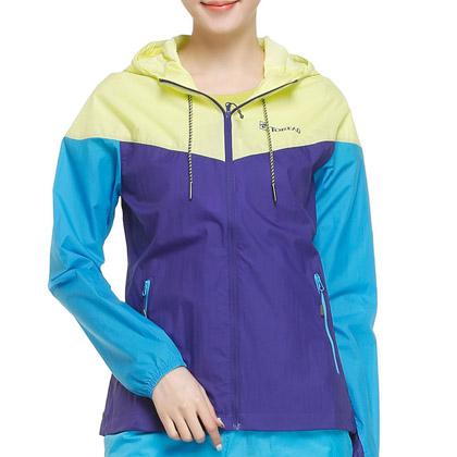 探路者Toread女式徒步皮肤衣 TAEC82287-E13B 莓紫