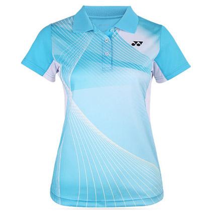 尤尼克斯YONEX 运动POLO衫 210197BCR 女款 海洋蓝(489