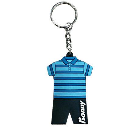 波力BONNY羽毛球服钥匙扣 蓝色 赠品