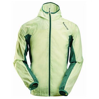 探路者Toread男式徒步皮肤衣 TAED81214-D36D -冰清绿