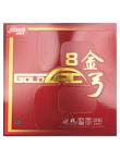 红双喜 金弓8 进攻型德系涩性反胶套胶 中厚,红双喜和德国ESN联合开发的涩性套胶
