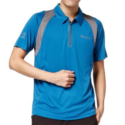 探路者Toread男式短袖速干T恤 TAJB81660-2 -钴蓝
