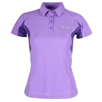 探路者Toread女式短袖速干T恤 TAJB82265-4 -天竺紫