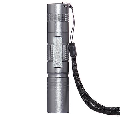 探路者Toread 户外徒步强光手电筒 TEJD80742-G18X 银色