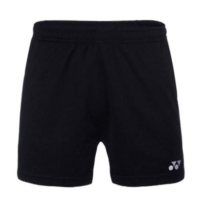 尤尼克斯YONEX 羽毛球服 320017BCR 儿童款 短裤 黑色