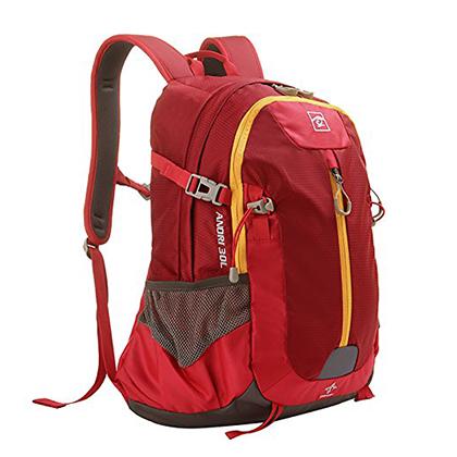 探路者Toread 户外徒步防水背包 30升 TEBC80209-A07A 锈红色