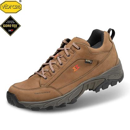 嘎蒙特 GARMONT 户外徒步防水低帮徒步鞋 GTX凌波微步 男女款 栗棕色
