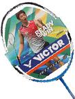 【到手价619元】胜利威克多VICTOR羽毛球拍亮剑12(BRS-12)(李龙大战拍,蓝色经典老12)