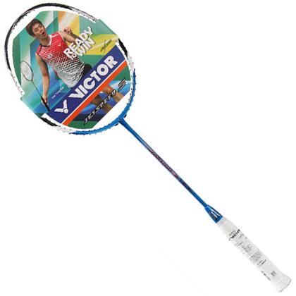 胜利威克多VICTOR羽毛球拍亮剑12(BRS-12)(李龙大战拍,蓝色经典老12)
