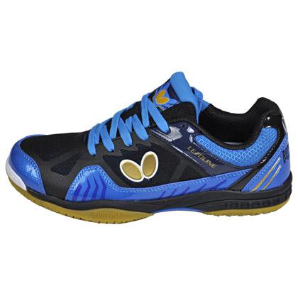 蝴蝶L1乒乓球鞋L-1蓝/黑配色 Butterfly LEZOLINE-1-0302 停产清仓特惠中!