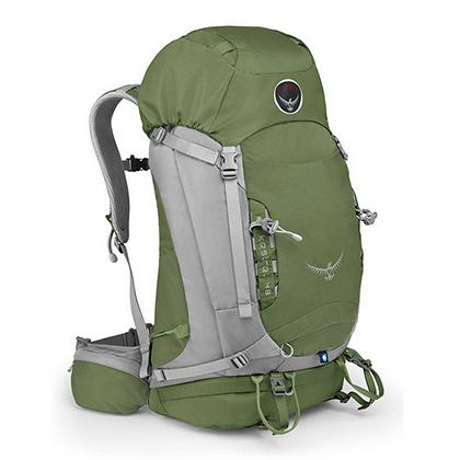 Osprey 户外徒步登山包 Kestrel(小鹰) 48升 叶绿色 经典背包,一包难求!