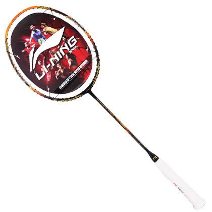 李宁新款高级羽毛球拍 N99 谌龙用拍 黑金色 风洞导流高级款(天王谌龙签名战拍)