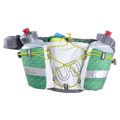 UD水壶腰包 男女款跑步腰包 双水壶JUREK ENDURE水壶腰包 白色(强力收纳,完美贴合)