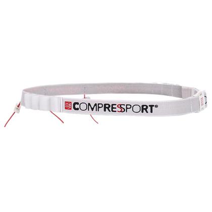 康普波斯 Compressport 比赛号码带 Race Belt 白色(告别曲别针的痛)