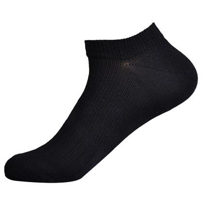 C3fit 纸纤维足弓支撑运动船袜 男女 黑色(夏日冰点价)