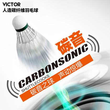 VICTOR 胜利 羽毛球 碳音1号 (碳音之球,声动惊爆)