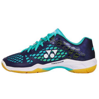 尤尼克斯YONEX羽毛球鞋 SHB-03EX 海军蓝/青绿(第三代旗舰款战靴)