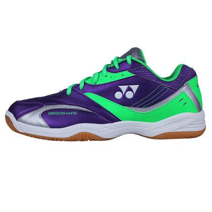 尤尼克斯YONEX羽毛球鞋 SHB-49C 紫/浅绿 男女款 (超强包裹,扎实脚感)