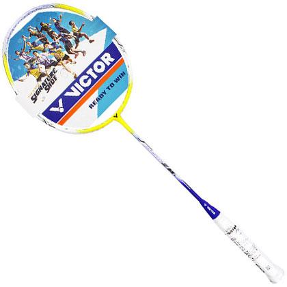 胜利VICTOR羽毛球拍 JS-09L-J 紫色(为速度而生,用急速掌控比赛!)