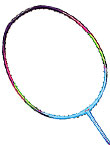 李宁羽毛球拍 WS72 风暴72 幻彩紫蓝 超轻羽拍 能拉30高磅 AYPM084-1 ,中国李宁超热销的中端型号之一