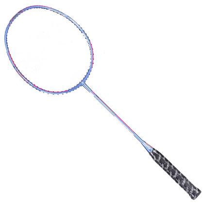 波力羽毛球拍 闪电55 LIGHTNING55 全碳纤维球拍,全配送线手胶,室内室外用拍