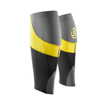 思金斯 SKINS 中性梯度压缩MX护腿 黑/柠檬黄 (精准压缩,缓解酸痛!)