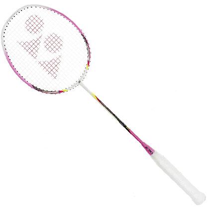 尤尼克斯YONEX羽毛球拍 NR10GE 白粉色(性能均衡,入门神器!)