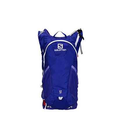 萨洛蒙Salomon 男女款户外越野跑背包 AGILE2 12 SET 光谱蓝