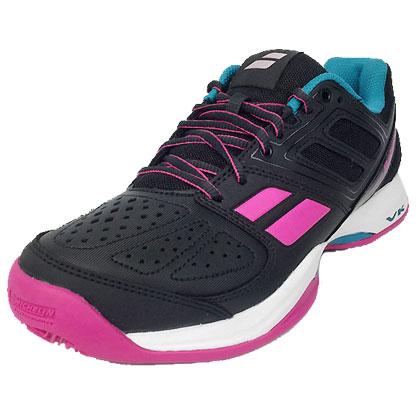 百寶力Balolat 網球鞋 Pulsion Clay 女款 灰粉色