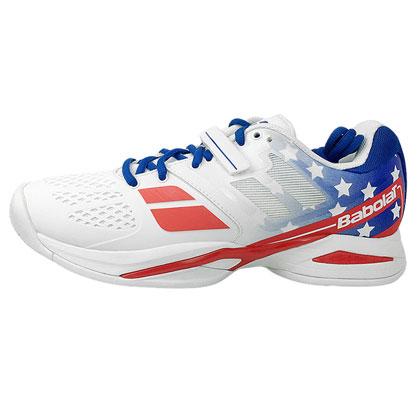 百宝力Babolat网球鞋 Propulse ALL Court M STARS男款 美国国旗标志