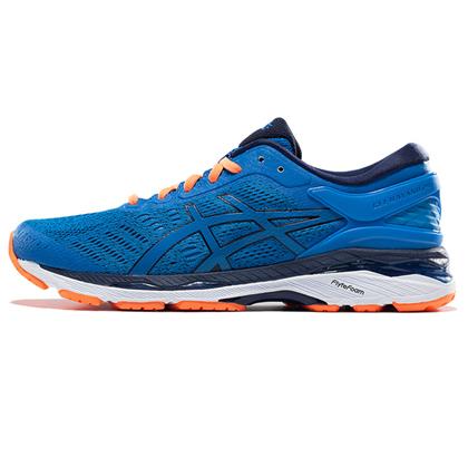 爱世克斯 亚瑟士ASICS K24公路稳定慢跑鞋GEL-KAYANO 24 男 T749N-4358 湖蓝色(跑鞋之王,新品尝鲜)