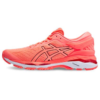爱世克斯 亚瑟士ASICS K24公路稳定慢跑鞋GEL-KAYANO 24 女 T799N-0690 亮红色