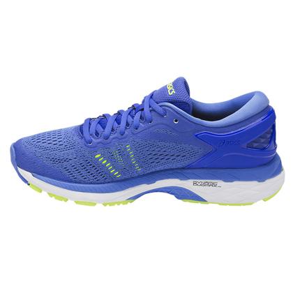 爱世克斯 亚瑟士ASICS K24公路稳定慢跑鞋GEL-KAYANO 24 女 T799N-4840 蓝色(跑鞋之王,新品尝鲜)