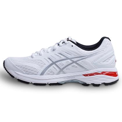 亚瑟士ASICS GT2000-5 女款跑鞋/慢跑鞋 T757N-0193 白色/青灰(经典升级,全面稳定)