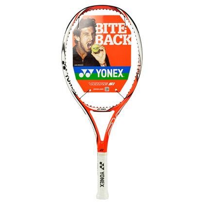 尤尼克斯YONEX儿童网球拍 儿童网拍 适合8-12岁儿童学习训练使用 超轻网拍 Vcore25jr 亮橙色