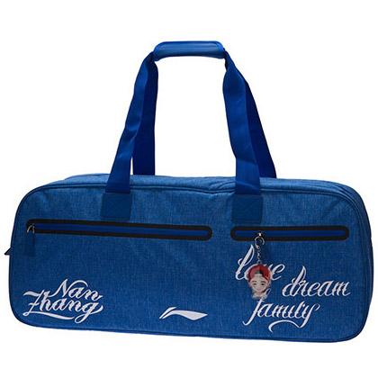李宁羽毛球包 ABJM124-1 矩形包 彩蓝色 9支装大包(张楠个性化拍包)