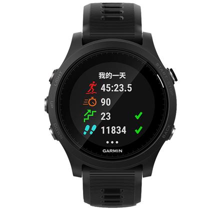 GARMIN佳明 Forerunner935 多功能GPS心率手表 铁三户外登山运动手表 黑色(多项运动,一键切换)
