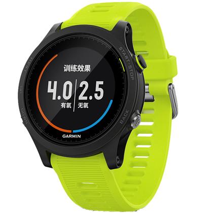 GARMIN佳明 Forerunner935 多功能GPS心率手表 铁三户外登山运动手表 橄榄黄(多项运动,一键切换)