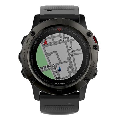 GARMIN佳明fenix5X 飞耐时5X 多功能GPS户外手表 中文蓝宝石DLC版(户外探险,三星定位,内置大陆地图)