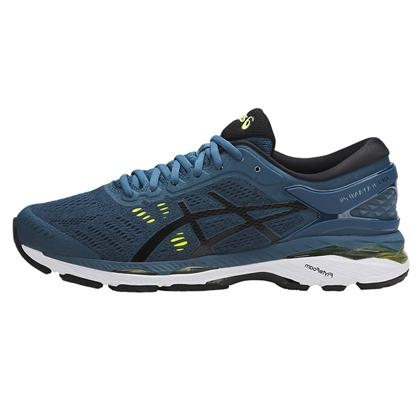 爱世克斯 亚瑟士ASICS K24公路稳定慢跑鞋GEL-KAYANO 24 男 T749N-4590 宝蓝色(跑鞋之王,新品尝鲜)