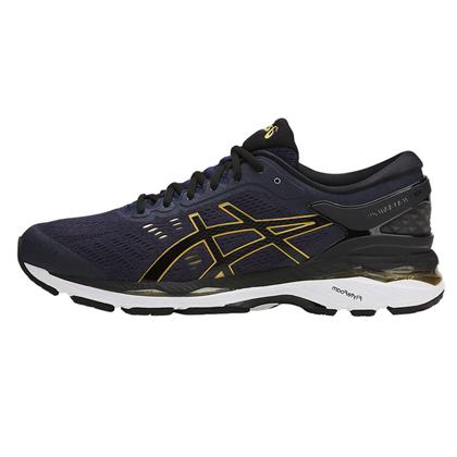 爱世克斯 亚瑟士ASICS K24公路稳定慢跑鞋GEL-KAYANO 24 男T749N-5890 蓝/黑/黄