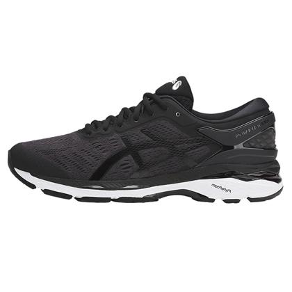?世克? 亚瑟士ASICS K24稳定慢跑鞋GEL-KAYANO 24男T749N-9016黑紫色(跑鞋之王,新品尝鲜)