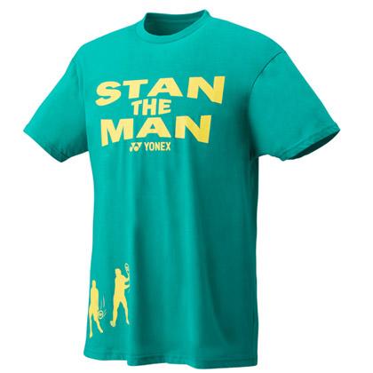 尤尼克斯YONEX短袖T恤 16293EX-750 男款 亮绿色