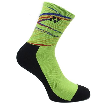 尤尼克斯YONEX 羽毛球袜 245017BCR 女袜 酸橙绿(舒适透气,加厚耐磨)