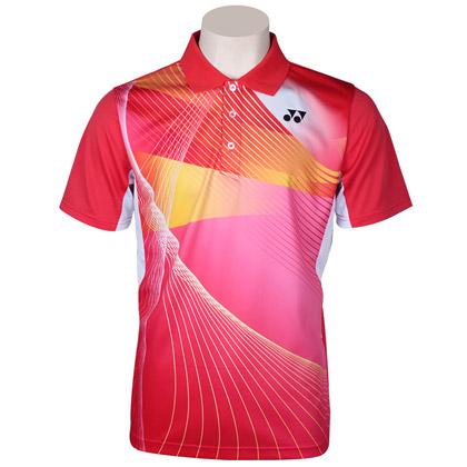 尤尼克斯YONEX 运动POLO衫 110197BCR-496 男款 红色