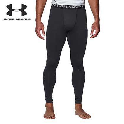 UA安德玛Under Armour ColdGear保暖紧身长裤 1265649001黑色 (排汗透气,双层伸缩)