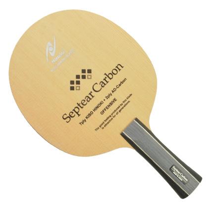 尼塔库Nittaku乒乓球底板 七层桧SEPTEAR CARBON(NC-0413)桧木+碳素