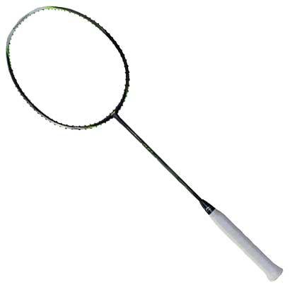李宁N7二代超轻版羽毛球拍N7II Light 黑绿(奥运会,世锦赛冠军纳西尔专属)