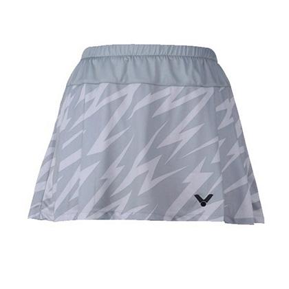 胜利VICTOR短裙 K-5194H 灰色羽毛球裤裙(性价比之选,带有安全裤)